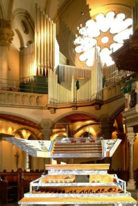 Spieltisch Orgel Lukas 2004 Harder-Völkmann