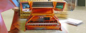 Spieltisch Dennerlein Orgelbau Harder-Völkmann München